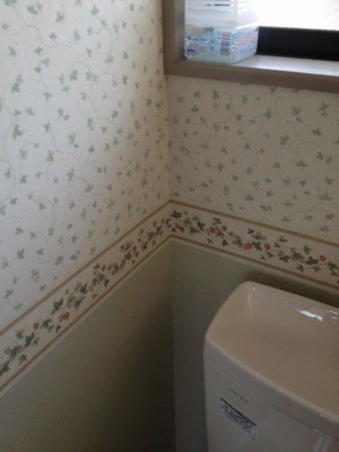 トイレ改修|イチゴ畑のボーダークロス施工