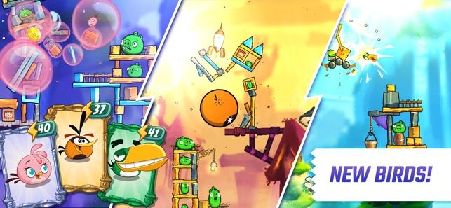 Angry Birds 2 On The App Store Angry Birds Birds 2