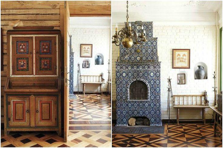 Русский стиль в интерьере - Russian interior style