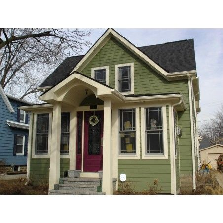 10 Best Green Exterior House Colors Images On Pinterest Exterior Homes Exterior Houses And
