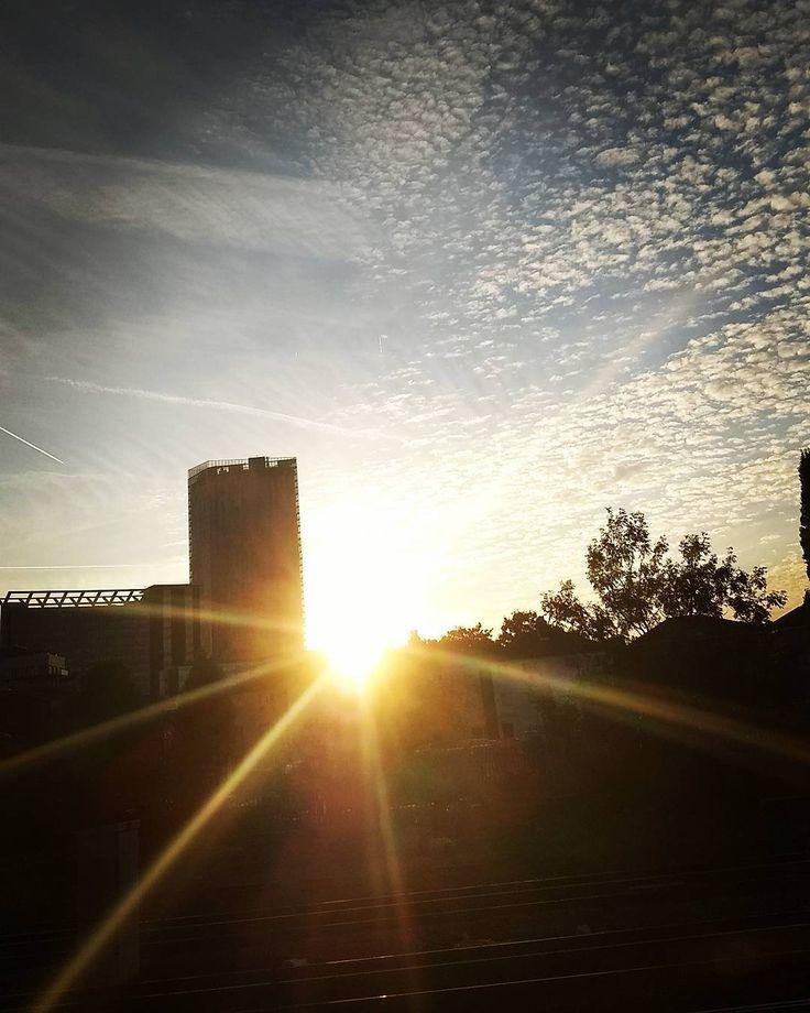 Last rays of summer London 2017 www.couchflyer.com #summer #sunset #london #sunrays