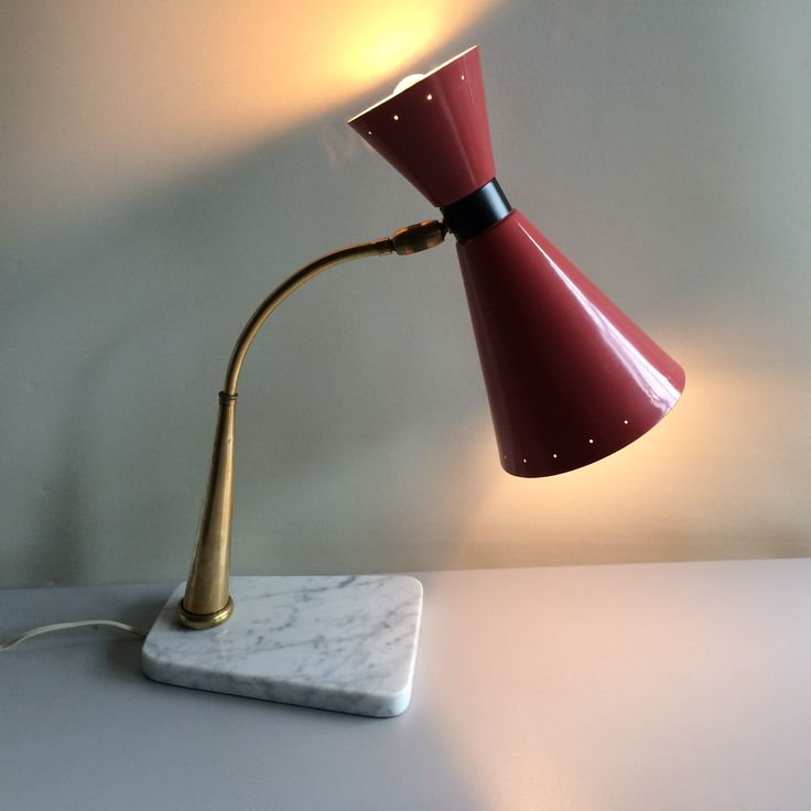 Table lamp LUMI 1950 Italy www.rvdgallery.be
