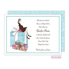 25 best pregnant baby bump invitations images by little angel pregnant momma baby shower invitation silhouette baby bump gifts in teal from little angel announcements filmwisefo