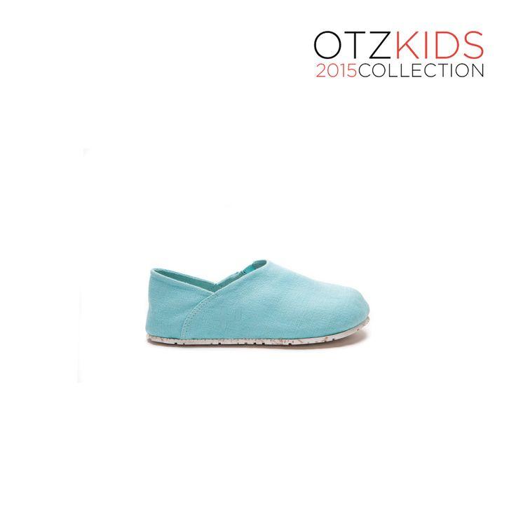 OTZSHOES Espadrille Kids Aqua Sky