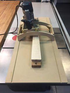 um projeto em andamento de um gabarito para arredondar os braços dos instrumentos. Estou postando para que quem se interessar no assunto se ...