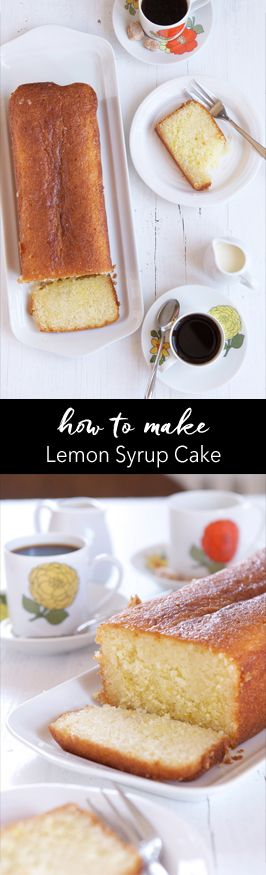 Step-by-step photo guide to making Lemon Syrup Cake. Recipe adapted from Nigella Lawson   eatlittlebird.com