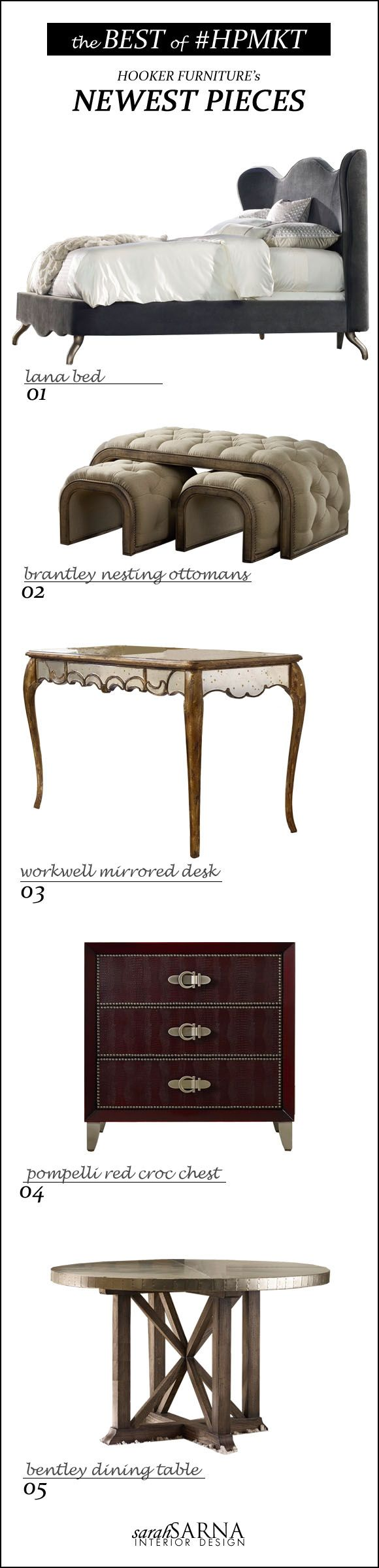 Hooker Furniture Newest Pieces