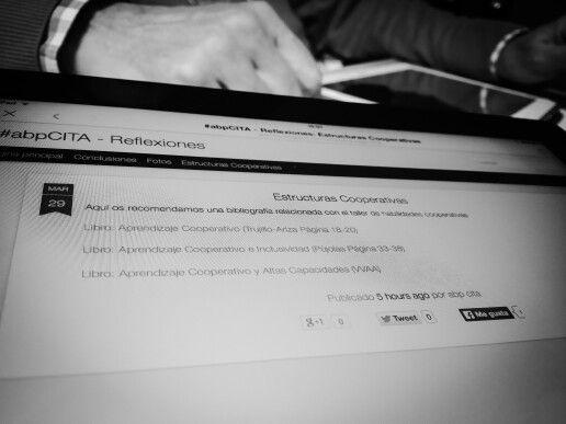 Analizando las estructuras cooperativas en el Taller de habilidades cooperativas. Todos de la mano de @yalocin. #abpcita