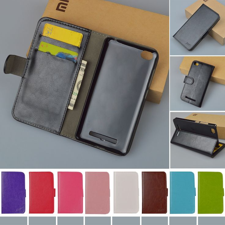 For Xiaomi mi4i Cover 9 colors Fashion Flip PU Leather Case For Xiaomi mi4i mi 4i Book style with stand and card slots J&R Brand