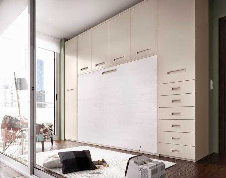 Consejos para ahorrar espacio en un dormitorio gracias a la cama - http://www.decoluxe.net/consejos-para-ahorrar-espacio-en-un-dormitorio-gracias-la-cama/