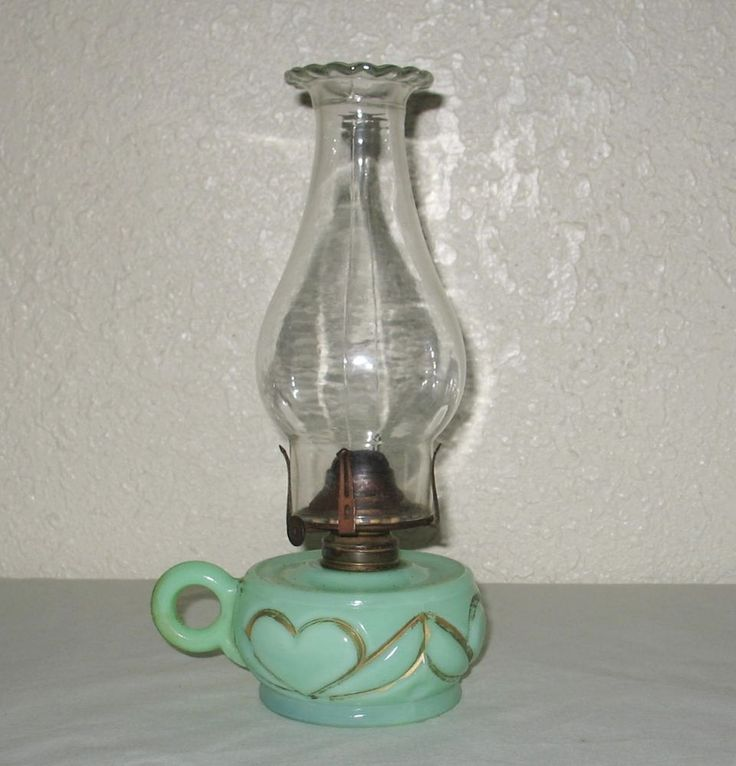 123 best Jadite Glass Oil lamps images on Pinterest | Oil lamps ...