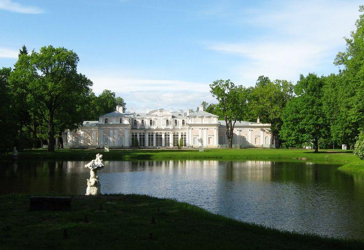г. Ораниенбаум (ныне Ломоносов). Дворцово-парковый комплекс. Китайский дворец.