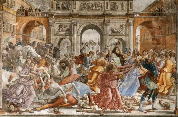 Slaughter of the Innocents (Domenico Ghirlandaio)