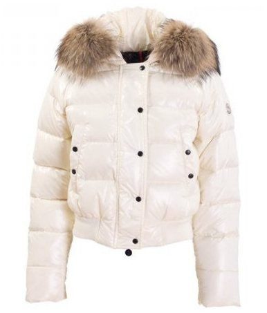 Moncler outlet Fashion - Moncler Alpin Alpes Damen Daunenjacken Weiß Stil