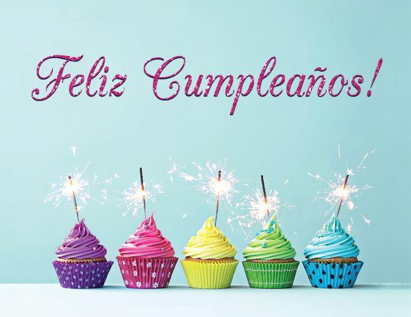 Happy birthday wishes in Spanish