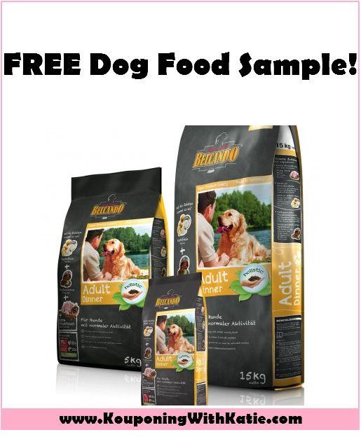 FREE Belcando Dog Food Samples!!!