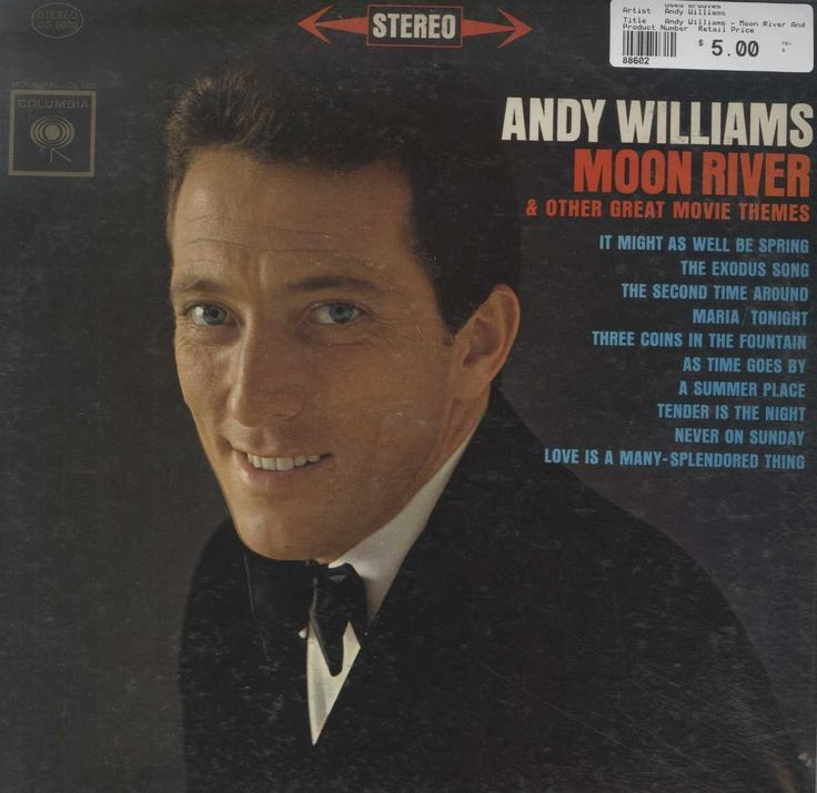 Andy Williams - Moon River And Other Great Movie Themes