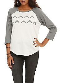 HOTTOPIC.COM - Studio Ghibli Her Universe My Neighbor Totoro Cosplay Girls Raglan: