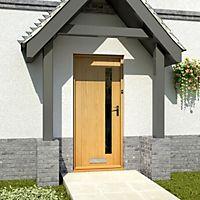 View White Oak Front Doors details