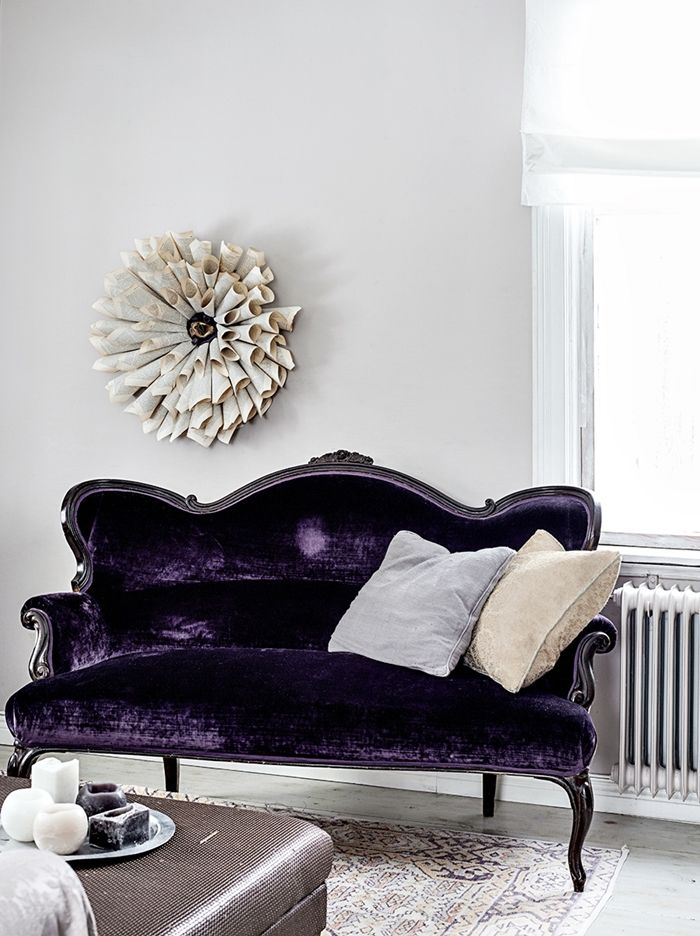 Purple Home Decor Pinterest Armchairs Interiors And