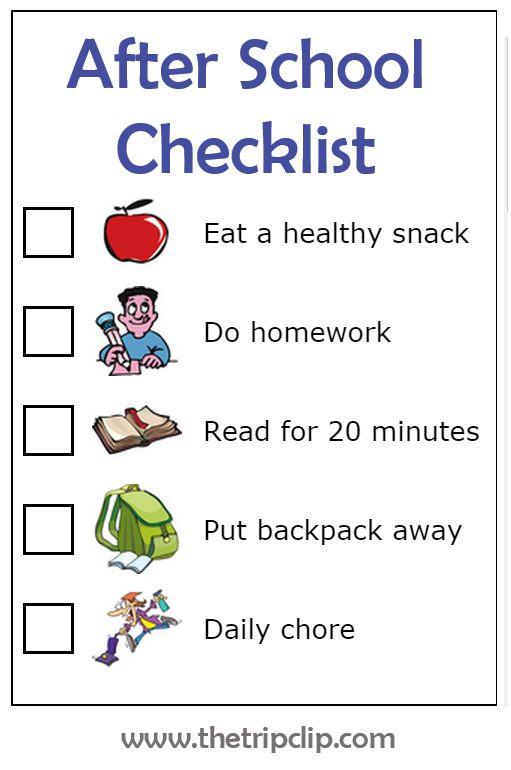 middle school essay checklist