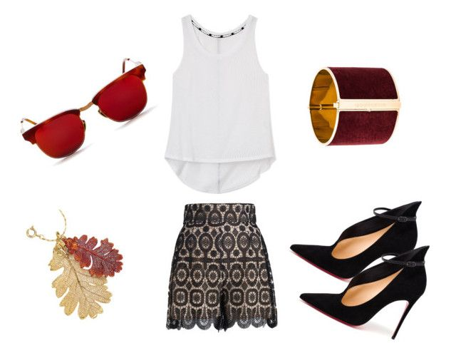 """""""Untitled #11"""" by adriana-elena-pusco on Polyvore featuring Zimmermann, Rebecca Minkoff, Christian Louboutin, Vanguard and Dsquared2"""