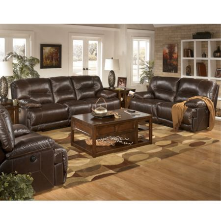 Home Solutions Michigan Collection 5 Piece Leather Power