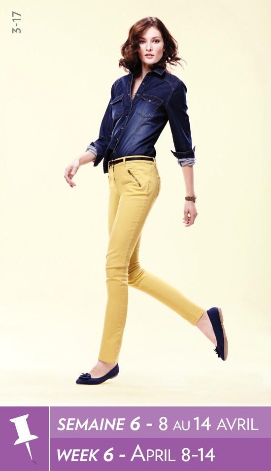 a sárga nadrágoddal