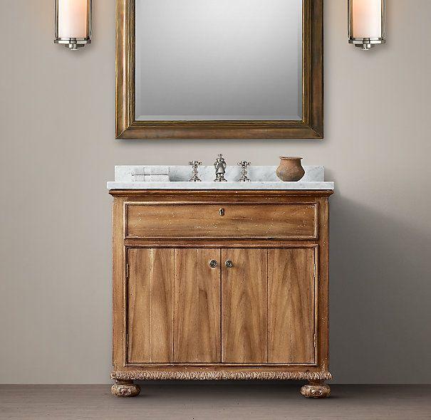 Photo Gallery Website French Empire Single Vanity Sink