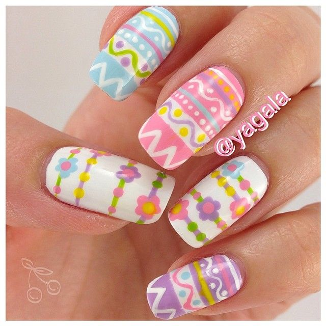 25+ Best Ideas About Easter Nail Art On Pinterest