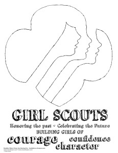 26 Best Girl Scout Coloring Pages Images On Pinterest