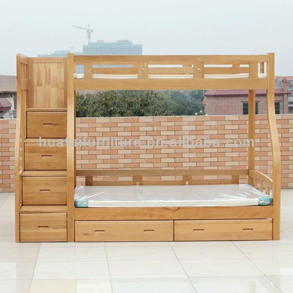 Source Solid beech wood kids bunk bed simple mother children solid wood  bunk bed bedroom furniture - Best 25+ Solid Wood Bunk Beds Ideas On Pinterest Bunk Beds With