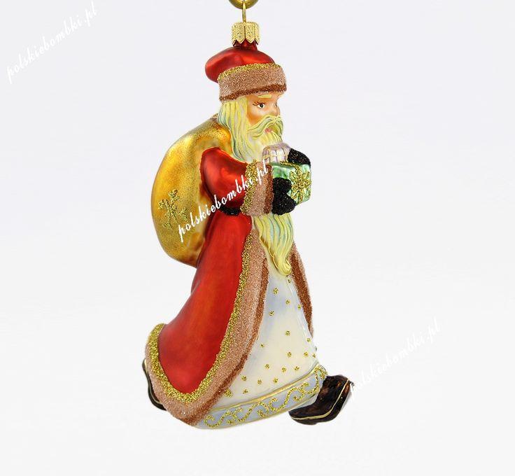 Wandering Santa - Polishchristmasornaments