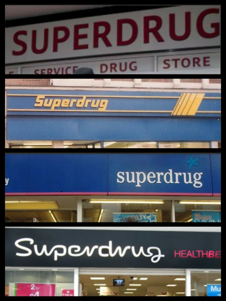 Superdrug through the years