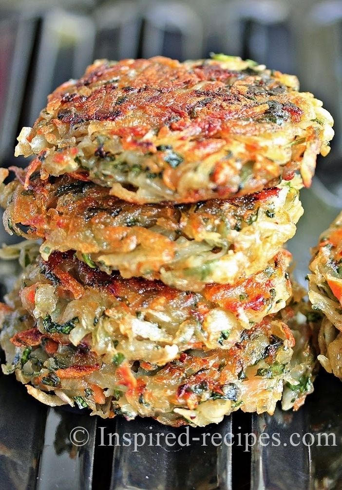 Homemade Hash Browns with Spinach and Carrot. Making this weekend with poached eggs!