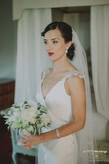 Anita and Luke's amazing wedding in Tuscany: the Bride is ready!