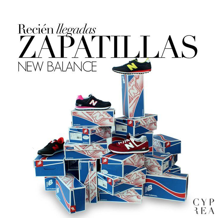 Nuevas zapatillas New Balance en Cyprea: http://cyprea.es/es/77_new-balance