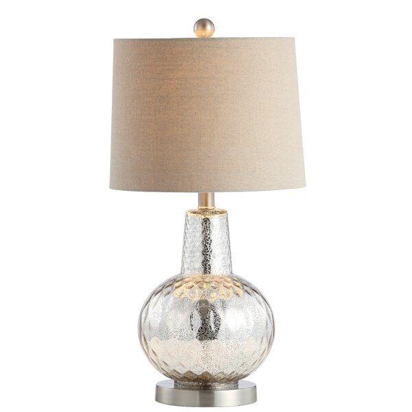 Hailey 24 Table Lamp Table Lamp Linen Lamp Shades Modern Rustic