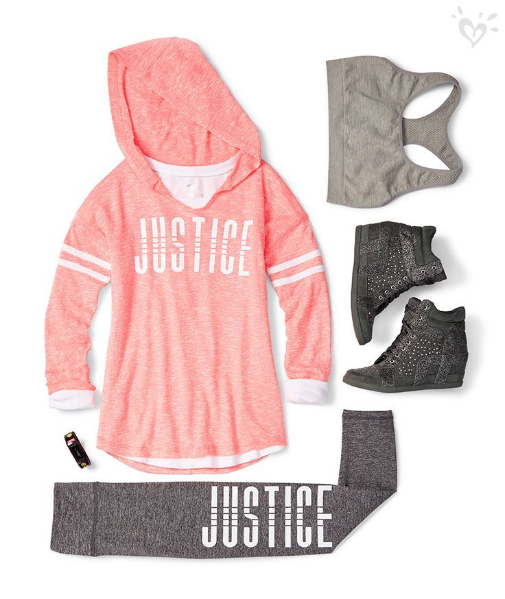 Just for you from Justice: super soft and cozy separates that look amazing together!