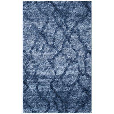 Safavieh RET2144-6570 Retro Area Rug, Blue / Dark Blue