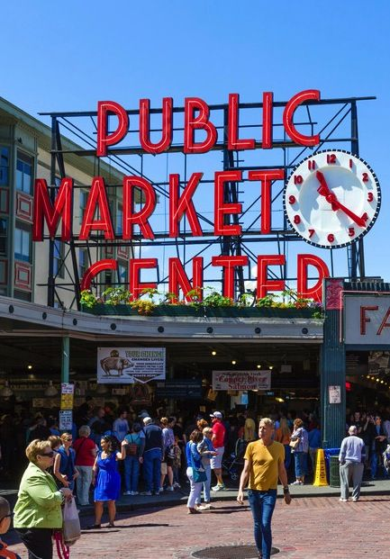 These famous fish markets are a seafood lovers 39 paradise for Famous fish market in seattle