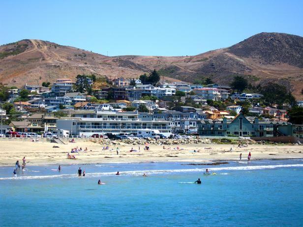 10 Best California Beaches- Cayucos State Beach, Cayucos