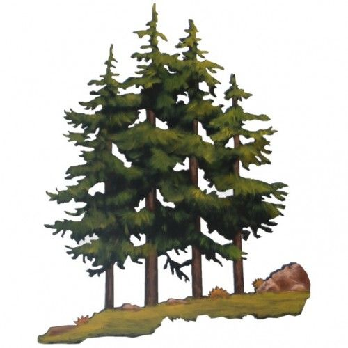 Wall Decor Pine Trees : Images about pine trees on