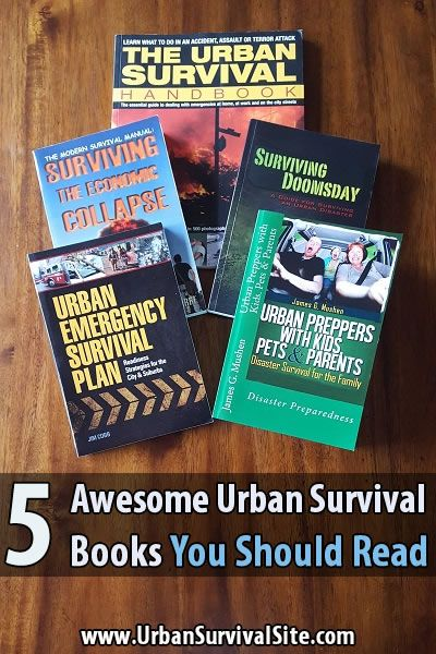 If you live in the city, here are 5 awesome urban survival books you should check out.