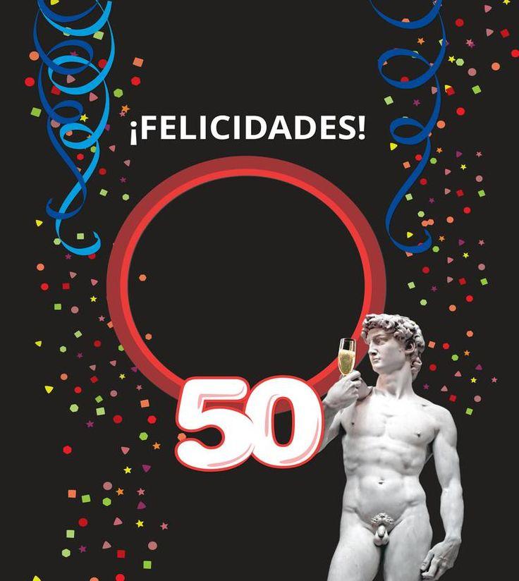 Libro de fotos 50 cumpleaños hombre, ¿Cómo hacer un regalo de 50 cumpleaños original y divertido?Dale la bienvenida al club de los 50 con un original regalo...