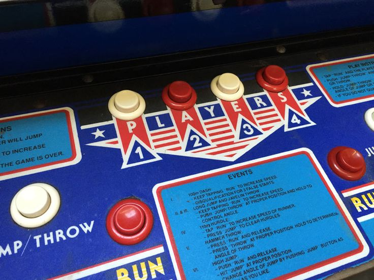 Track and Field - Arcade games, Racing simulators, Photo booths, Pinball Game Rental