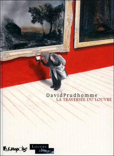 La traversée du Louvre : Prudhomme déambule dans les salles du Louvre. Il a l'impression d'être dans les cases d'une bande dessinée géante. Lui-même est en train d'inventer la sienne sur le Louvre. Ce sera une histoire muette