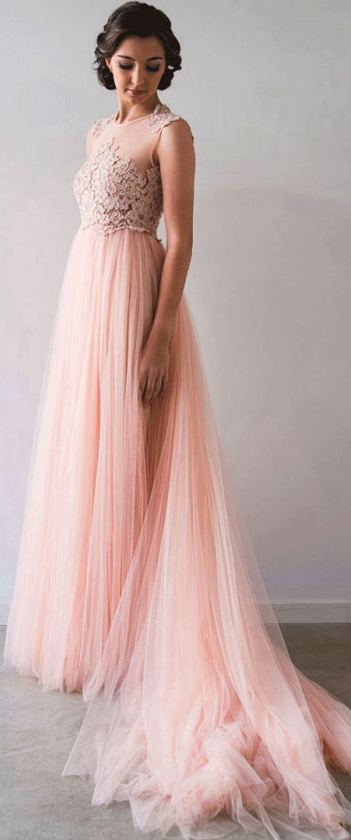 100 best colorful wedding dresses images on pinterest for Modest wedding dresses seattle