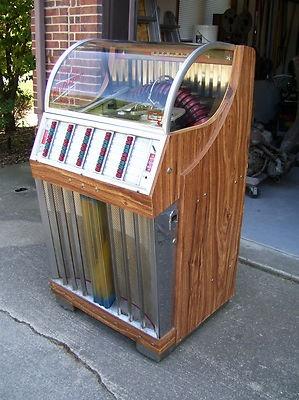 Vintage 1954 Rockola Model 1442 Jukebox Juke Box | eBay