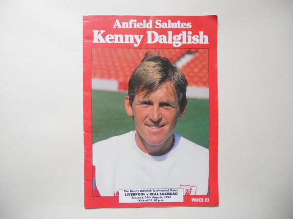 Kenny Dalglish Testimonial Programme by LFCcollectables on Etsy, £14.99